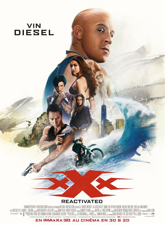 xXx : Reactivated : Affiche