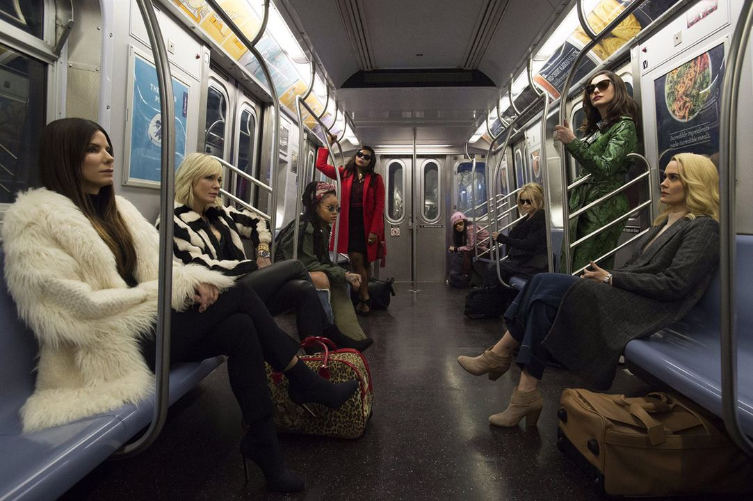 Ocean's 8 : Photo Anne Hathaway, Awkwafina, Cate Blanchett, Helena Bonham Carter, Mindy Kaling