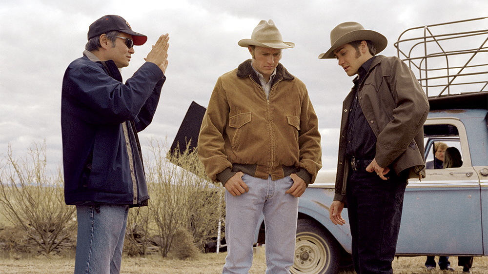 Le Secret de Brokeback Mountain : Photo Ang Lee, Heath Ledger, Jake Gyllenhaal