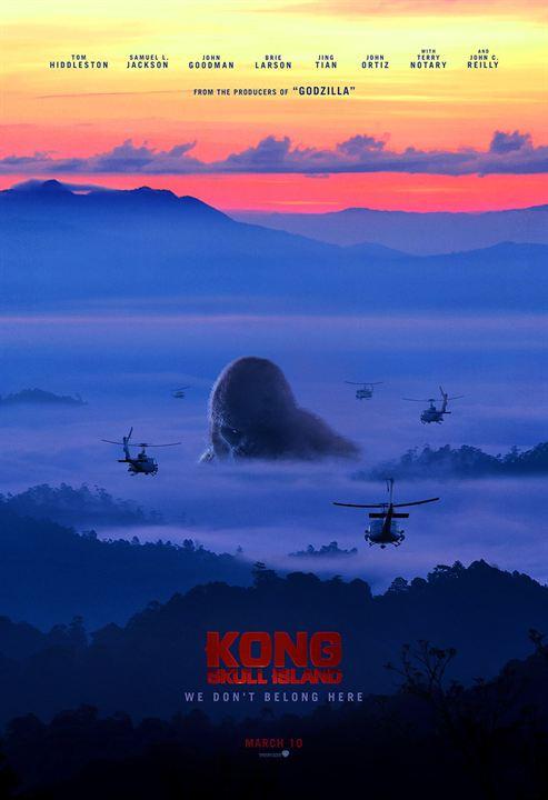 Kong: Skull Island : Affiche