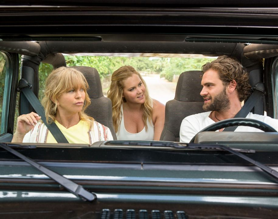 Snatched : Photo Amy Schumer, Goldie Hawn, Tom Bateman