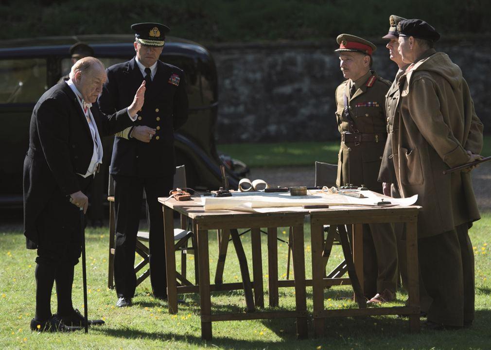 Churchill : Photo Brian Cox, Danny Webb (V), James Purefoy, John Slattery, Julian Wadham