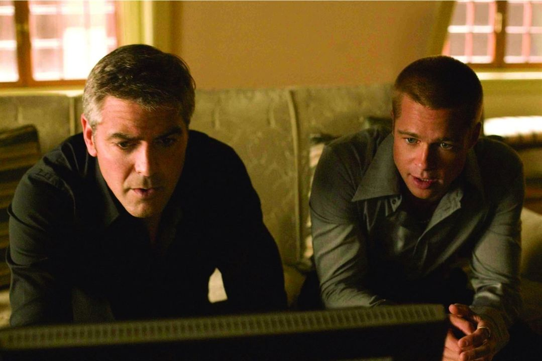 Ocean's Twelve : Photo Brad Pitt, George Clooney