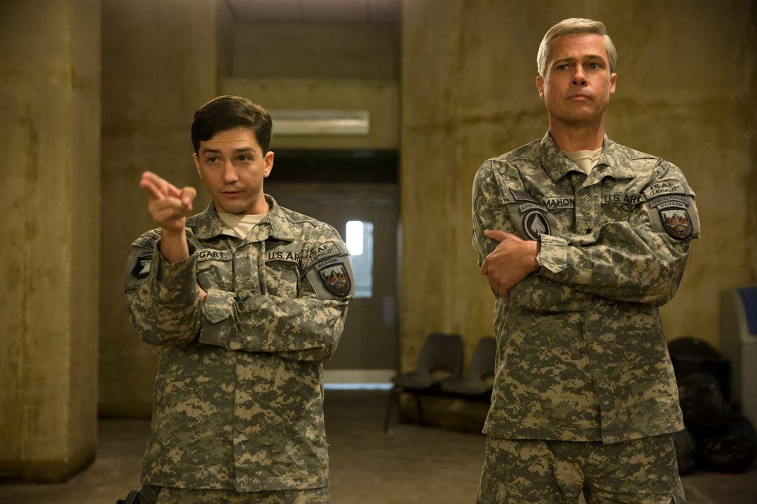 War Machine : Photo Brad Pitt, John Magaro