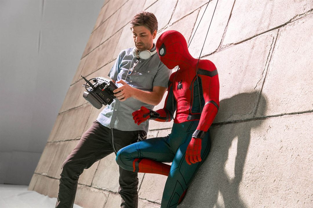 Spider-Man: Homecoming : Photo Jon Watts, Tom Holland