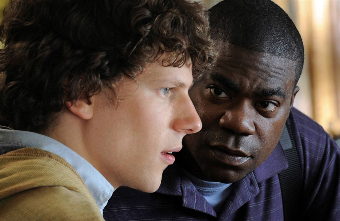 Why Stop Now? : Photo Jesse Eisenberg, Tracy Morgan