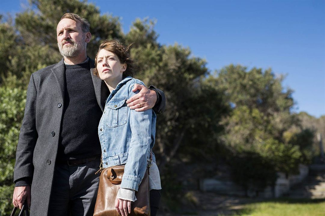 Photo Carrie Coon, Christopher Eccleston