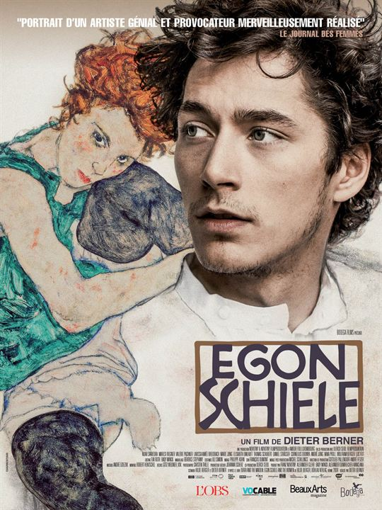 Egon Schiele : Affiche