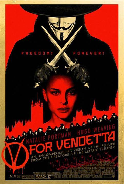 V pour Vendetta : Affiche
