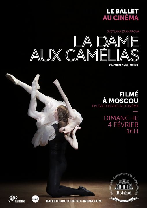 La Dame aux camélias (Bolchoï-Pathé Live)