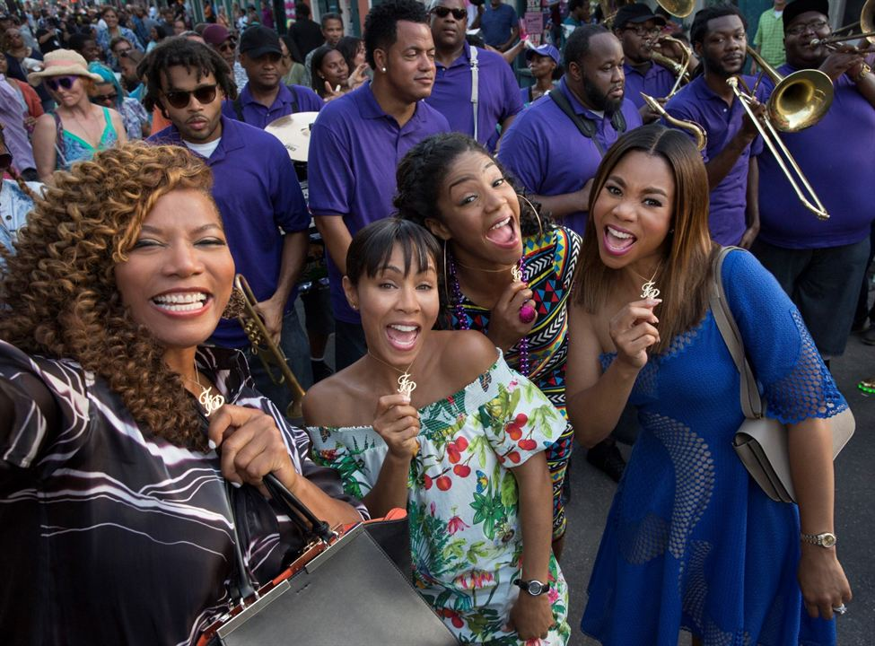 Girls Trip : Photo Jada Pinkett Smith, Queen Latifah, Regina Hall, Tiffany Haddish