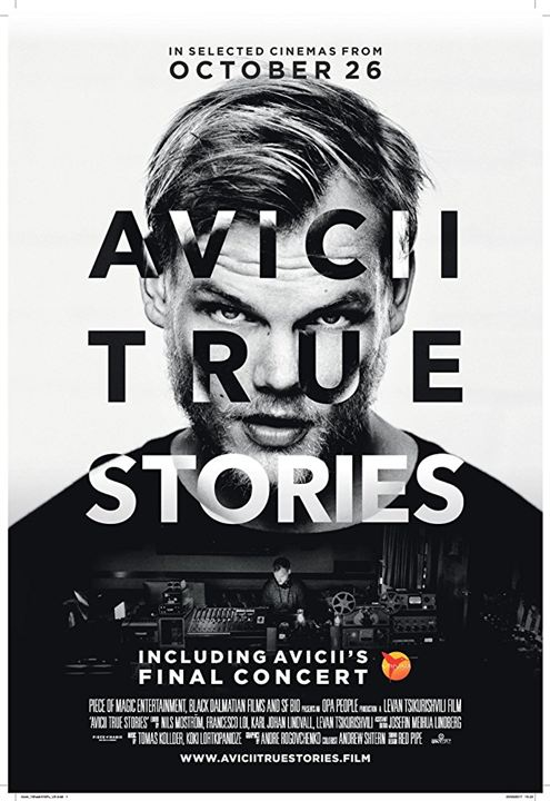 Avicii: True Stories : Affiche