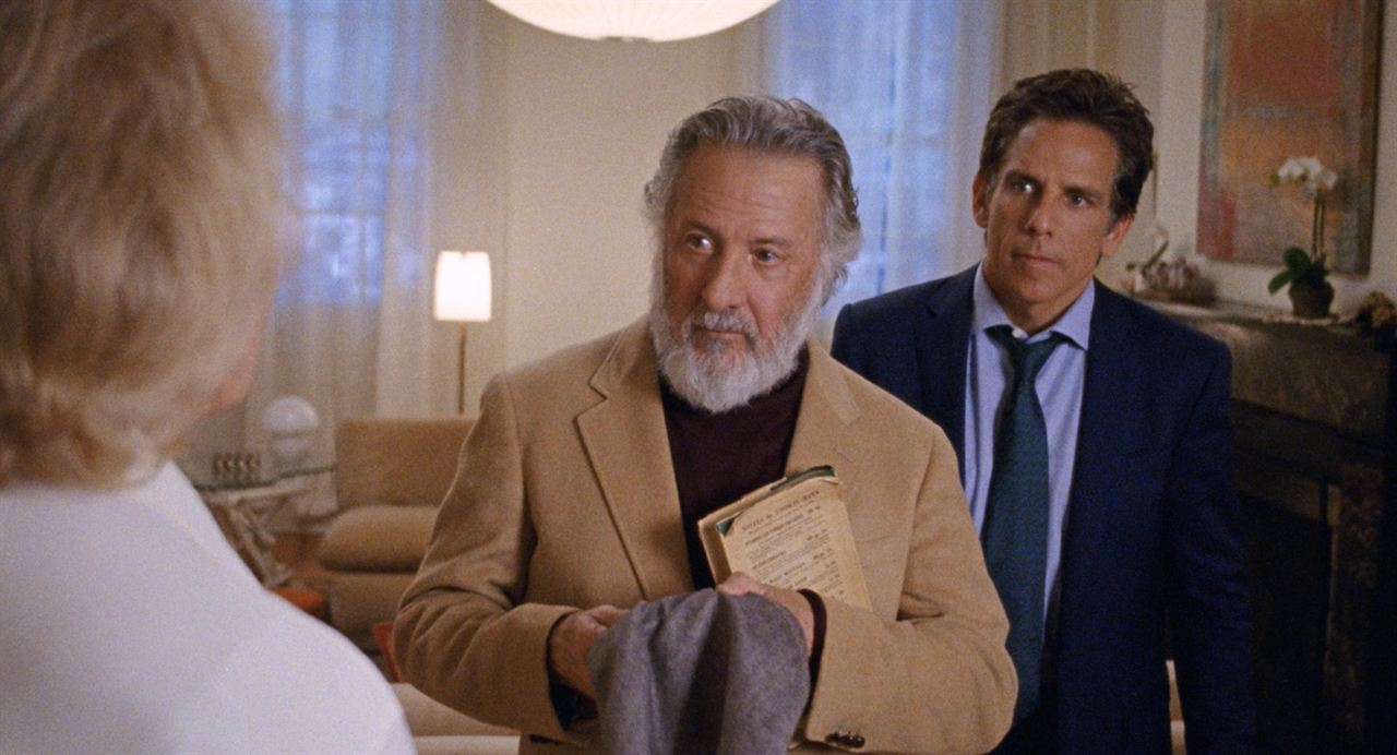 The Meyerowitz Stories (New and Selected) : Photo Adam Sandler, Dustin Hoffman