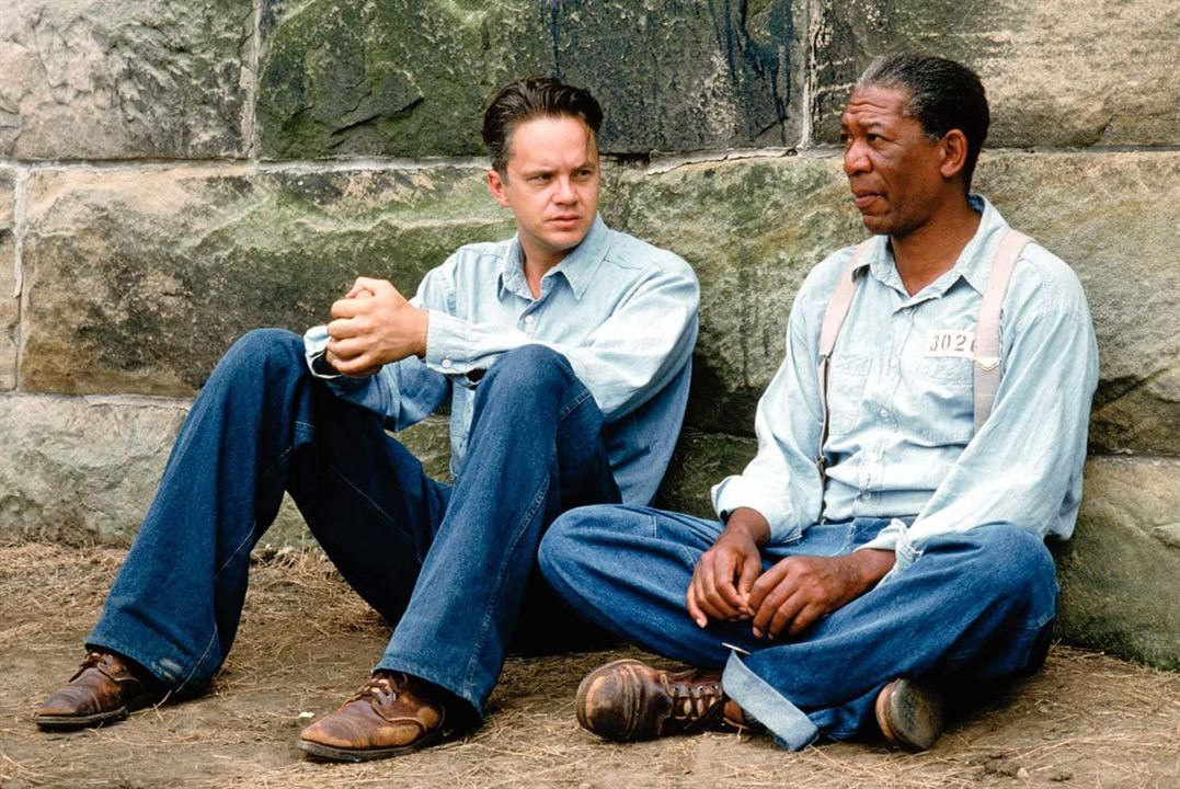 Les Evadés : Photo Morgan Freeman, Tim Robbins