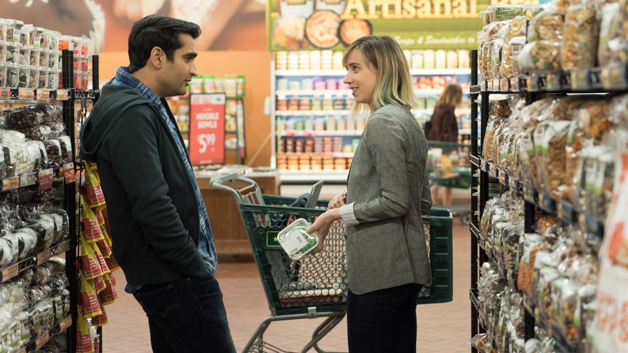 The Big Sick : Photo Kumail Nanjiani, Zoe Kazan