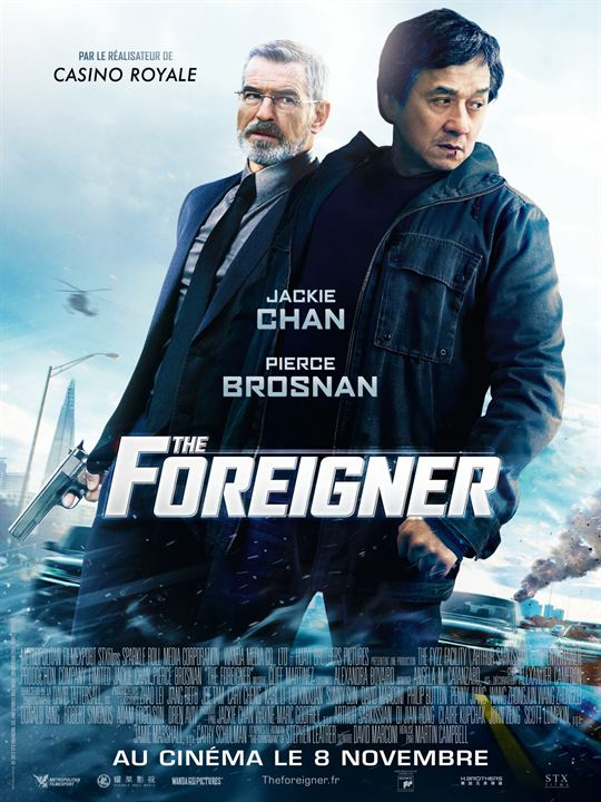 affiche du film the foreigner affiche 1 sur 4 allocin. Black Bedroom Furniture Sets. Home Design Ideas