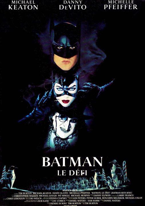 Batman, le défi : Affiche