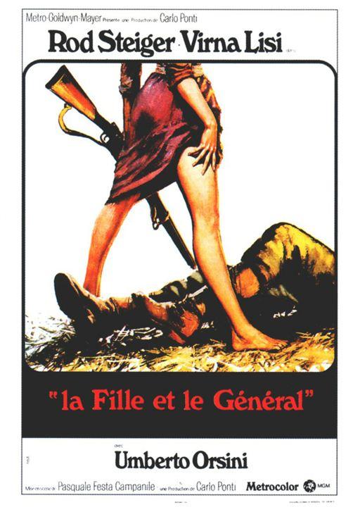 La Fille et le général : Affiche