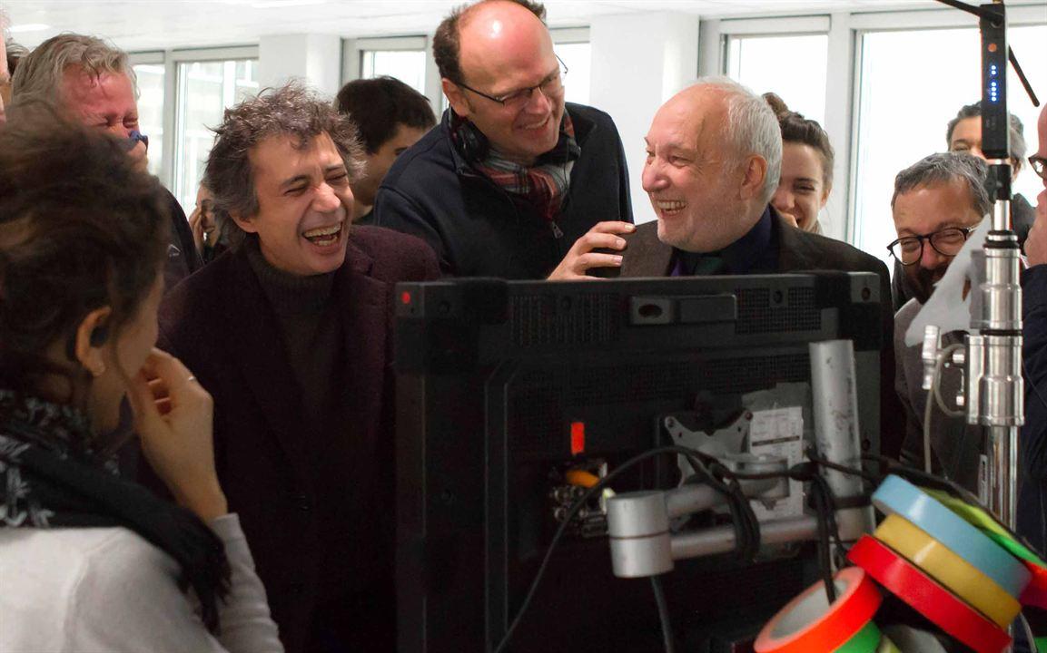 Je vais mieux : Photo Eric Elmosnino, François Berléand, Jean-Pierre Améris