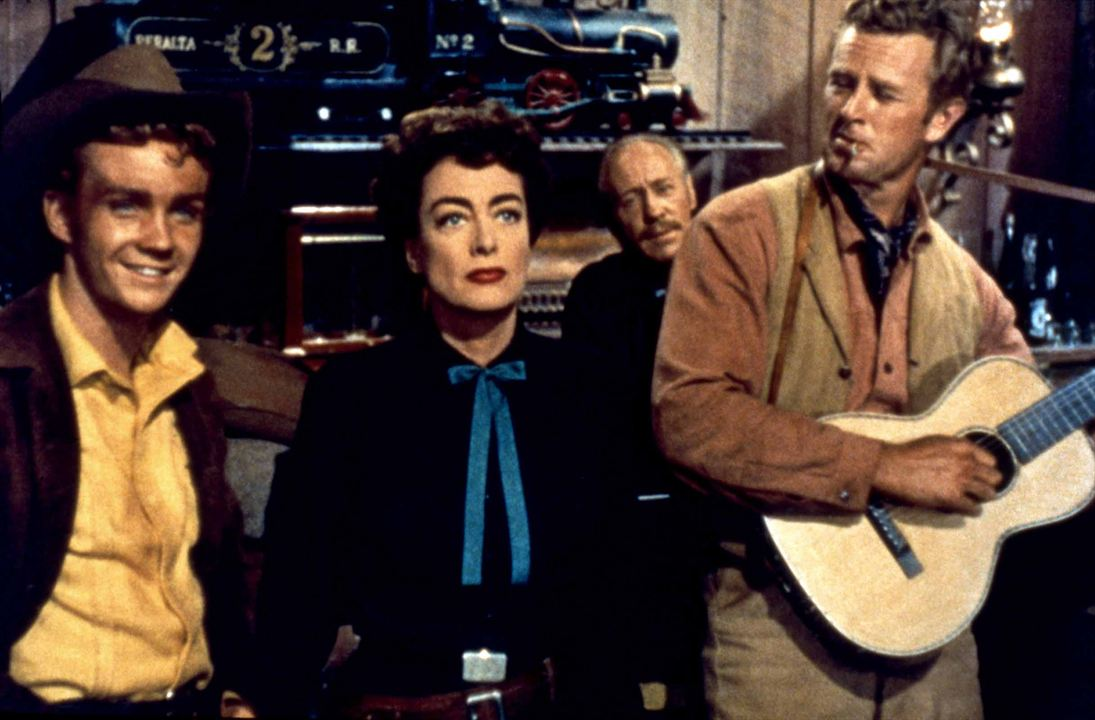 Johnny Guitare : Photo Joan Crawford, Nicholas Ray, Sterling Hayden