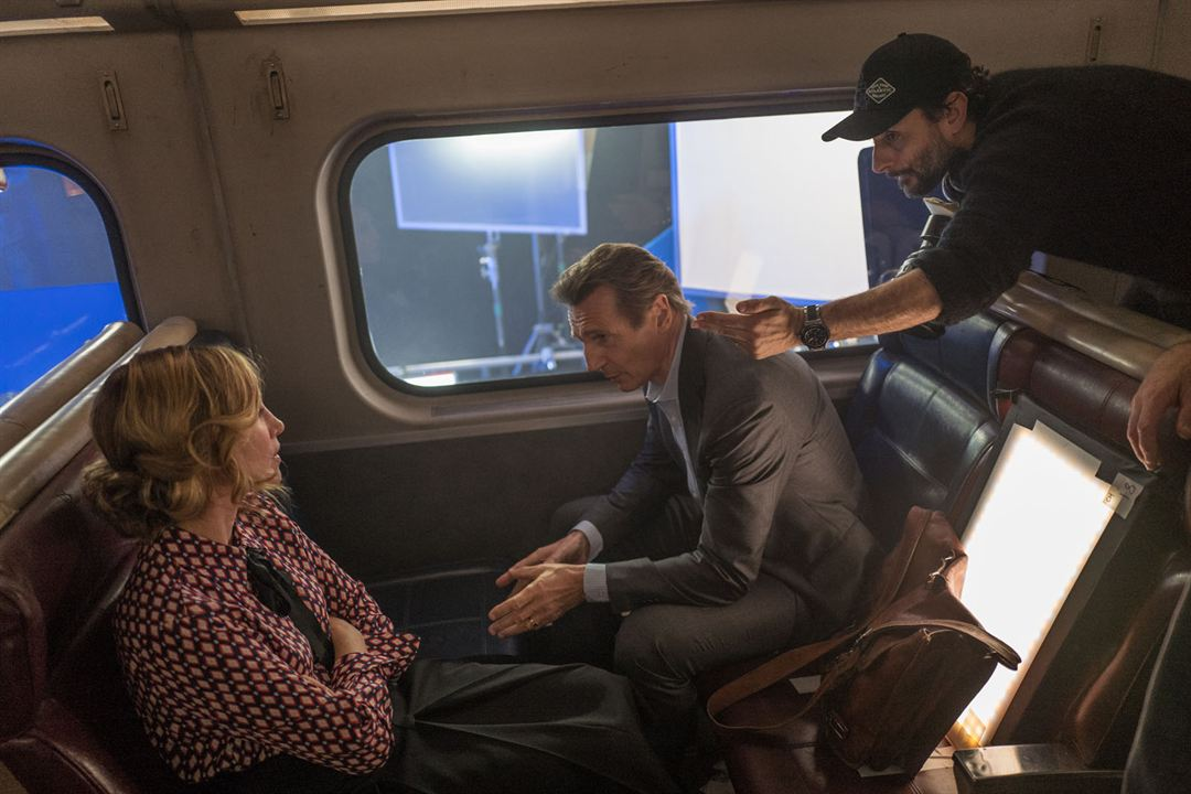 The Passenger : Photo Jaume Collet-Serra, Liam Neeson, Vera Farmiga