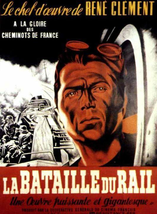 La Bataille du Rail : Affiche