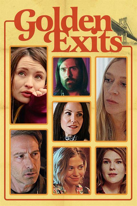 Golden Exits : Affiche