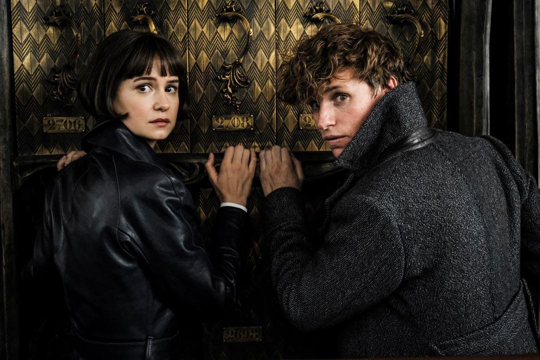 Les Animaux fantastiques : Les crimes de Grindelwald : Photo Eddie Redmayne, Katherine Waterston