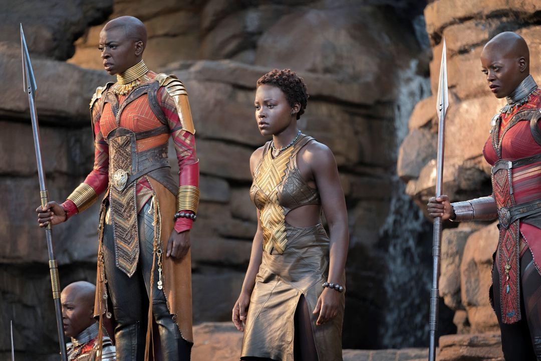 Black Panther : Photo Danai Gurira, Florence Kasumba, Lupita Nyong'o