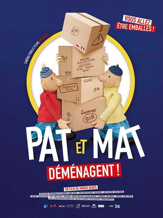 Pat et Mat déménagent ! : Affiche