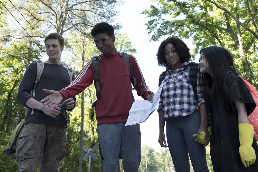 Darkest Minds : Rébellion : Photo Amandla Stenberg, Harris Dickinson, Miya Cech, Skylan Brooks