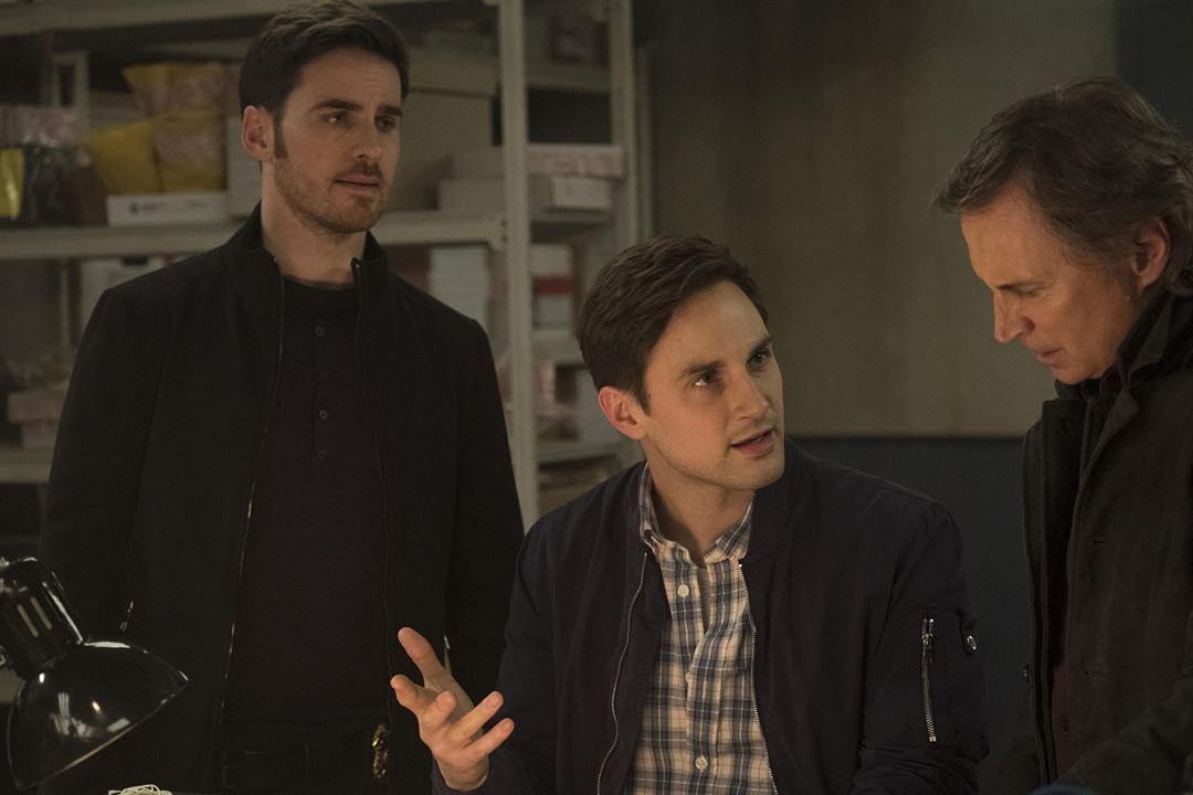 Photo Andrew J. West, Colin O'Donoghue, Robert Carlyle