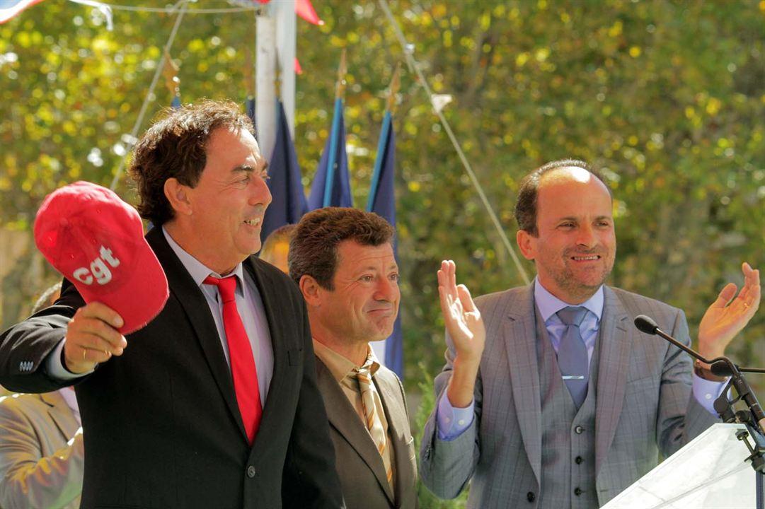 Les Municipaux, ces héros : Photo Eric Carrière, Francis Ginibre, Lionel Abelanski