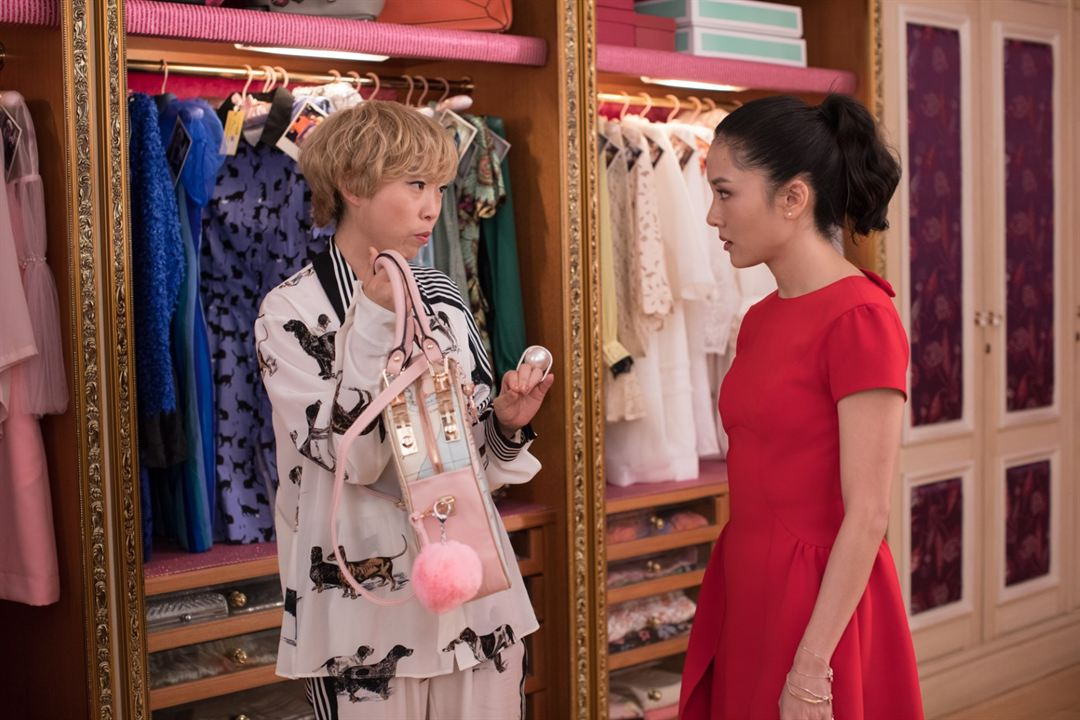 Crazy Rich Asians : Photo Awkwafina, Constance Wu