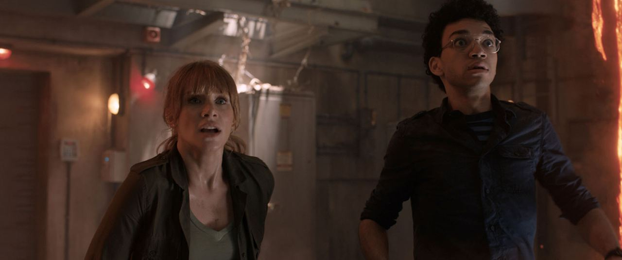 Jurassic World: Fallen Kingdom : Photo Bryce Dallas Howard, Justice Smith