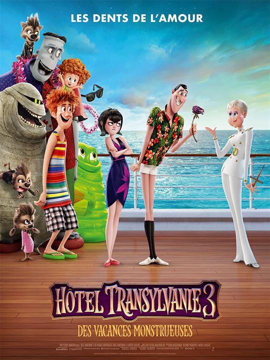 Hôtel Transylvanie 3 : Des vacances monstrueuses : Affiche