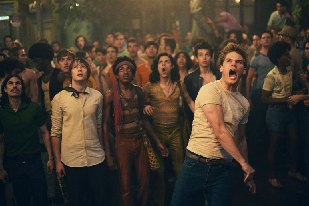 Stonewall : Photo Alexandre Nachi, Caleb Landry Jones, Jonny Beauchamp, Vladimir Alexis