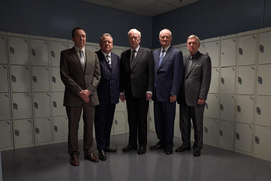 Gentlemen cambrioleurs : Photo Jim Broadbent, Michael Caine, Paul Whitehouse, Ray Winstone, Tom Courtenay