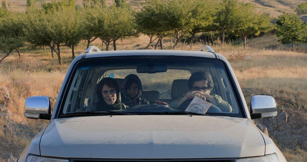 Trois visages : Photo Behnaz Jafari, Jafar Panahi, Marziyeh Rezaei