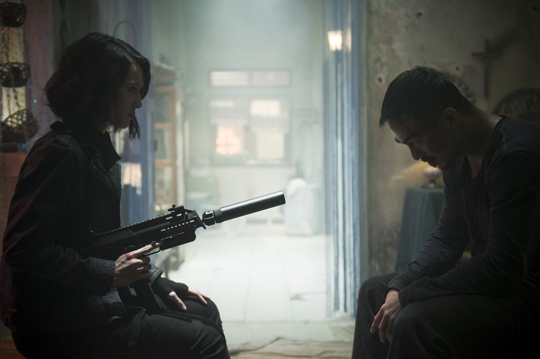The Night Comes For Us : Photo Joe Taslim, Julie Estelle