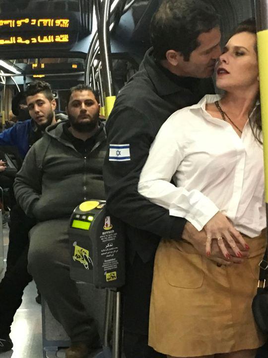 Un Tramway à Jérusalem : Affiche