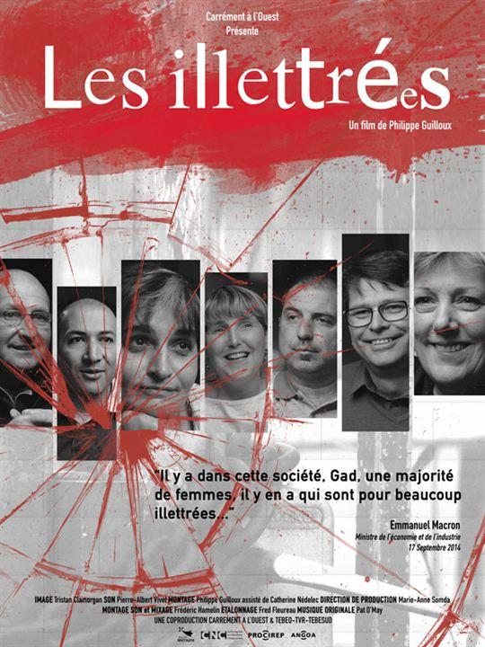 Les Illettrées : Affiche