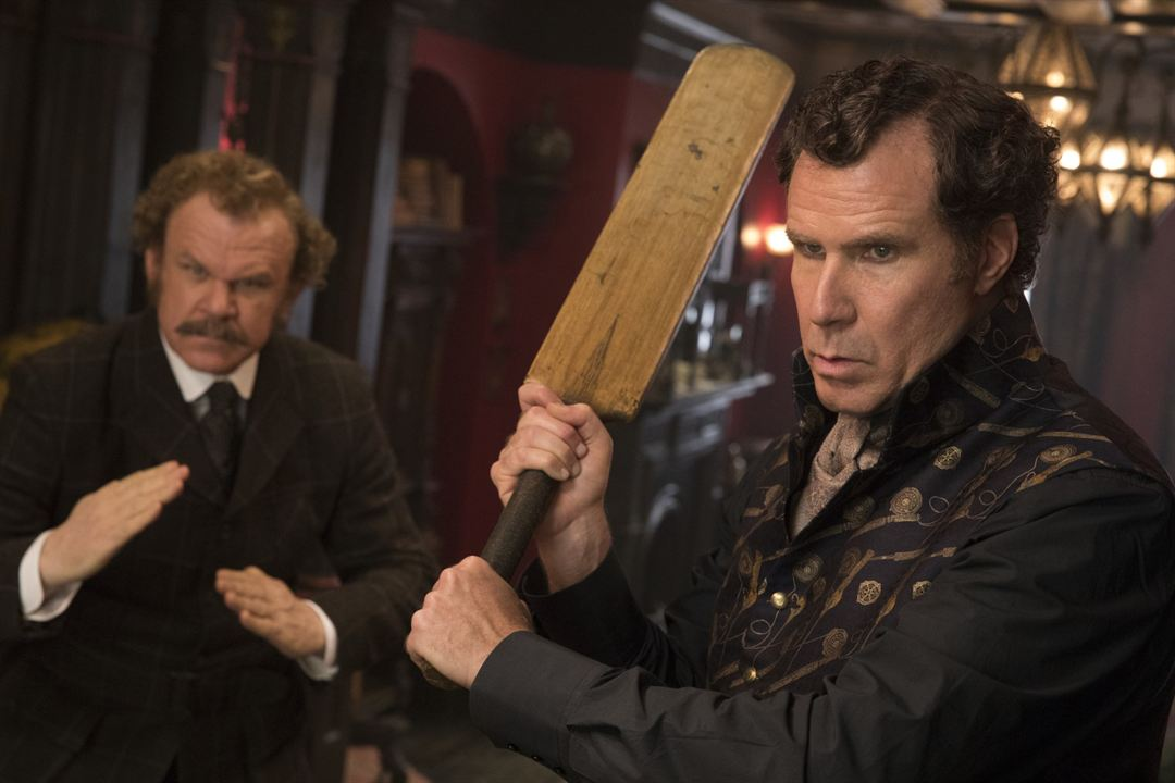 Holmes & Watson : Photo John C. Reilly, Will Ferrell