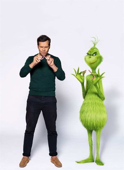 Le Grinch : Photo promotionnelle Laurent Lafitte