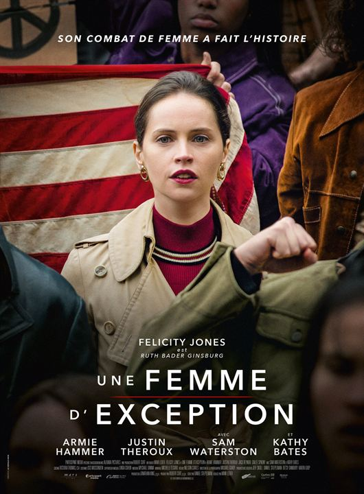 Une femme d'exception : Affiche