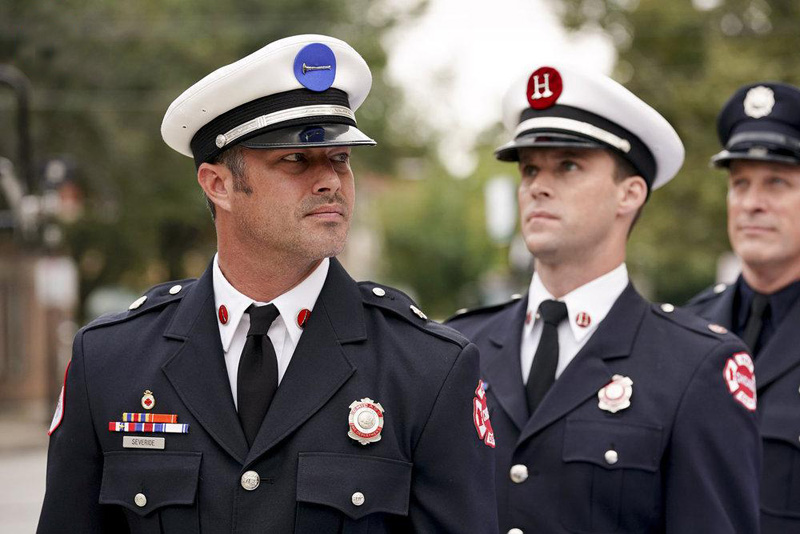 Photo Jesse Spencer, Taylor Kinney