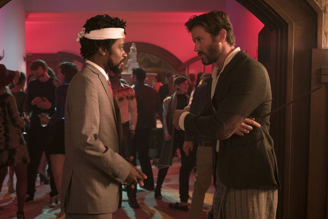 Sorry To Bother You : Photo Armie Hammer, Lakeith Stanfield