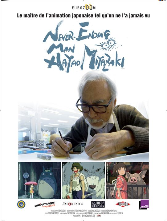 Never ending man : Hayao Miyazaki : Affiche