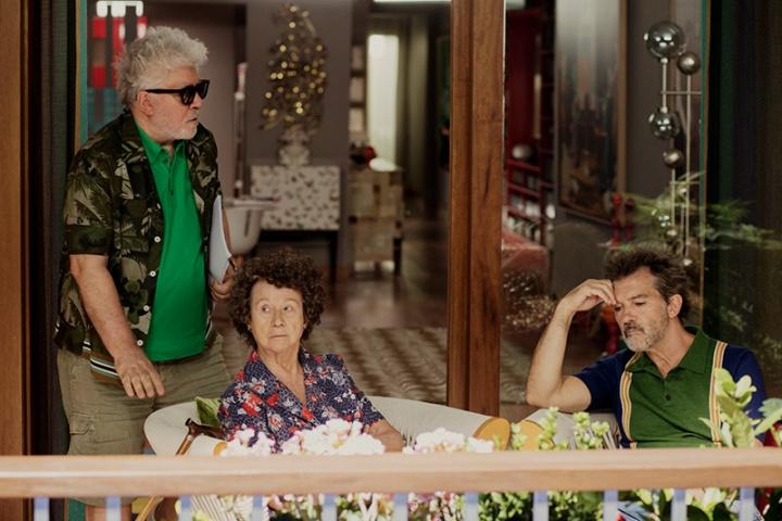 Douleur et gloire : Photo promotionnelle Antonio Banderas, Julieta Serrano, Pedro Almodóvar