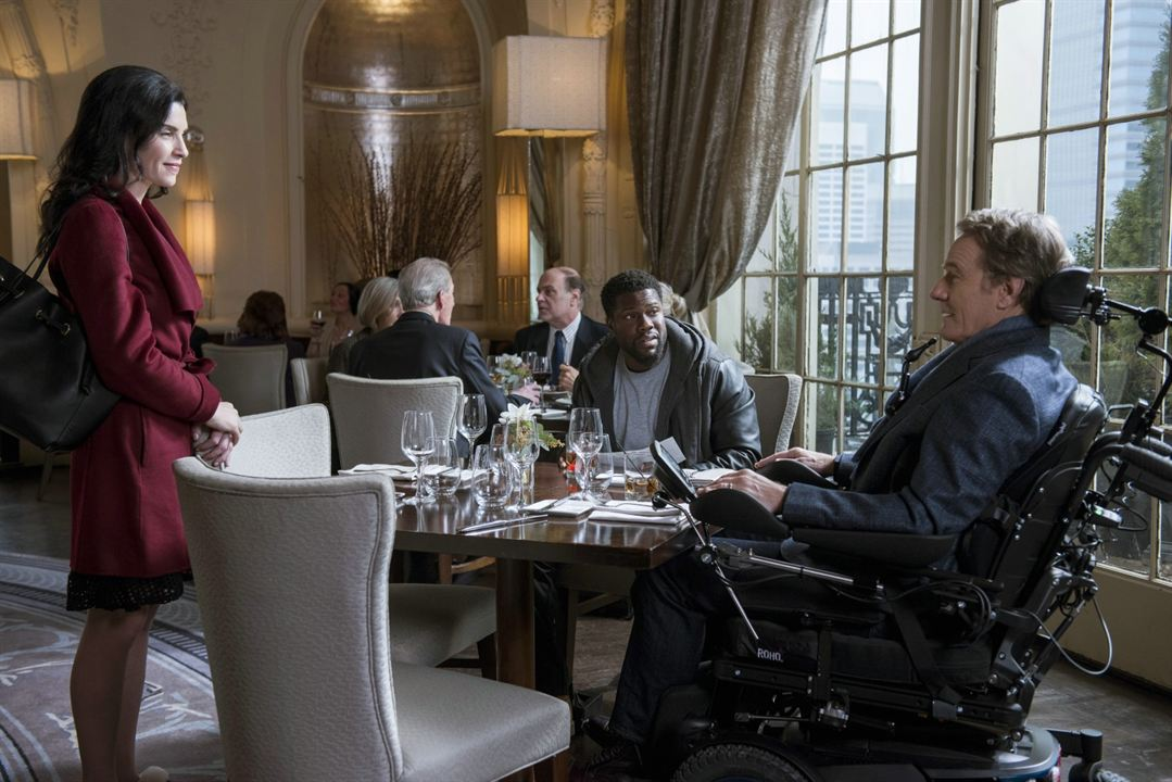 The Upside : Photo Bryan Cranston, Julianna Margulies, Kevin Hart